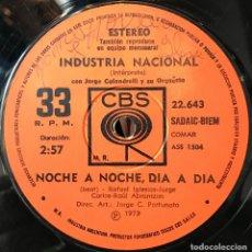 Discos de vinilo: SENCILLO ARGENTINO DE INDUSTRIA NACIONAL AÑO 1973. Lote 57655241