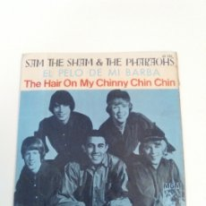 Discos de vinilo: SAM THE SHAM & THE PHARAOHS EL PELO DE MI BARBA THE HAIR ON MY CHINNNY CHIN CHIN ( 1966 MGM ESPAÑA). Lote 180517191