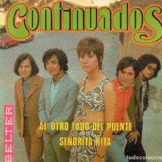 Discos de vinilo: ENVÍO CERTIFICADO - SINGLE CONTINUADOS- BELTER 1970 -. Lote 180793305