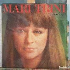 Discos de vinilo: *** MARI TRINI - EL TIEMPO Y YO - LP 1977 (EDICIÓN ORIGINAL) - LEER DESCRIPCIÓN. Lote 180835508