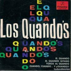 Discos de vinilo: LOS QUANDOS - EL QUANDO / EL QUANDO GITANO / TODOS AL CUANDO / CUANDO,CUANDO Y QUANDO. Lote 180835628