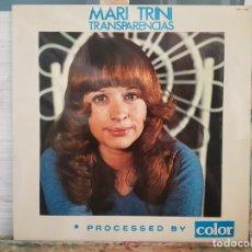 Discos de vinilo: *** MARI TRINI - TRANSPARENCIAS - LP 1975 (EDICIÓN ORIGINAL) - LEER DESCRIPCIÓN. Lote 180835635