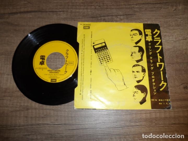 Discos de vinilo: KRAFTWERK - POCKET CALCULATOR - Foto 2 - 180838758