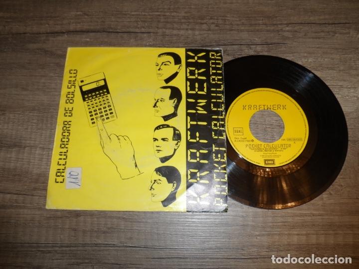 KRAFTWERK - POCKET CALCULATOR (Música - Discos - Singles Vinilo - Electrónica, Avantgarde y Experimental)