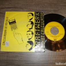 Discos de vinilo: KRAFTWERK - POCKET CALCULATOR. Lote 180838758