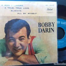 Discos de vinilo: BOBBY DARIN, IF A MAN'S ANSWERS, ALL BY MYSELF +2. Lote 180839725