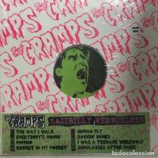 Discos de vinilo: THE CRAMPS NAZIBILLY WERWOELFEN LP . GARAGE PUNK ROCKABILLY POISON IVY LUX. Lote 180843852