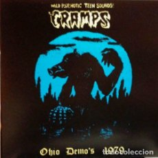 Discos de vinilo: THE CRAMPS OHIO DEMO'S 1979 LP . POISON IVY LUX INTERIOR PUNK TRASH ROCKABILL. Lote 180844260
