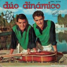 Discos de vinilo: DUO DINAMICO - BAILANDO TWIST / PERDONAME / ME GUSTA EL TWIST / DIME POR QUE. Lote 180846441