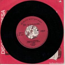 Discos de vinilo: SALOME - LA FERIA / ADORO / GWENDOLYNE / TUS MANOS (EP ESPAÑOL, FUNDADOR 10.197). Lote 180849963