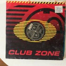 Discos de vinilo: LOVE MESSAGE - LOVE MESSAGE - 12'' MAXISINGLE CLUB ZONE 1996. Lote 180851197