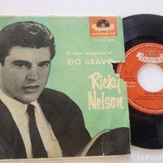 Dischi in vinile: RICKY NELSON - RIO BRAVO - EP POLYDOR 1959. Lote 180851456