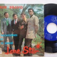 Discos de vinilo: LONE STAR - AMOR BRAVO + 3 - EP LA VOZ DE SU AMO 1967. Lote 180852221