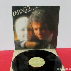 Discos de vinilo: DYANGO - POR AMOR AL ARTE - LP - EMI 1985 SPAIN. Lote 180856933