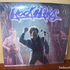 Discos de vinilo: MIGUEL RIOS - ROCK & RIOS - DOBLE LP 1982 CON LETRAS CANCIONES CARPETA ALGO DETERIORADA. Lote 180858390