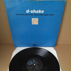 Discos de vinilo: D-SHAKE - MY HEART, THE BEAT (NORTHSIDE) / MAXI SINGLE IMPORT TEMAZOS RUTA DESTROY. Lote 180858467