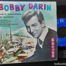 Discos de vinilo: BOBBY DARIN, CANTA CANCIONES DE NAVIDAD, ADESTE FIDELES, POOR LITTLE JESU +2. Lote 180860697