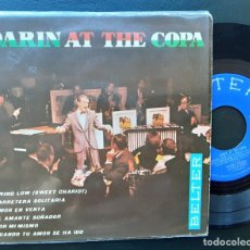 Discos de vinilo: BOBBY DARIN, AT THE COPA, SWING LOW SWEET CHARIOT +5. Lote 180860887