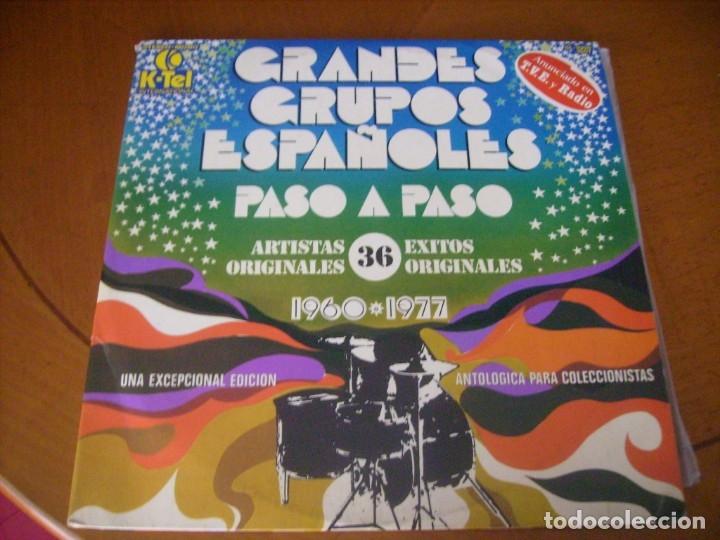 LP DOBLE / GRANDES GRUPOS ESPAÑOLES 1960 - 1977 NO CONTINE POSTER (Música - Discos - LP Vinilo - Grupos Españoles 50 y 60)