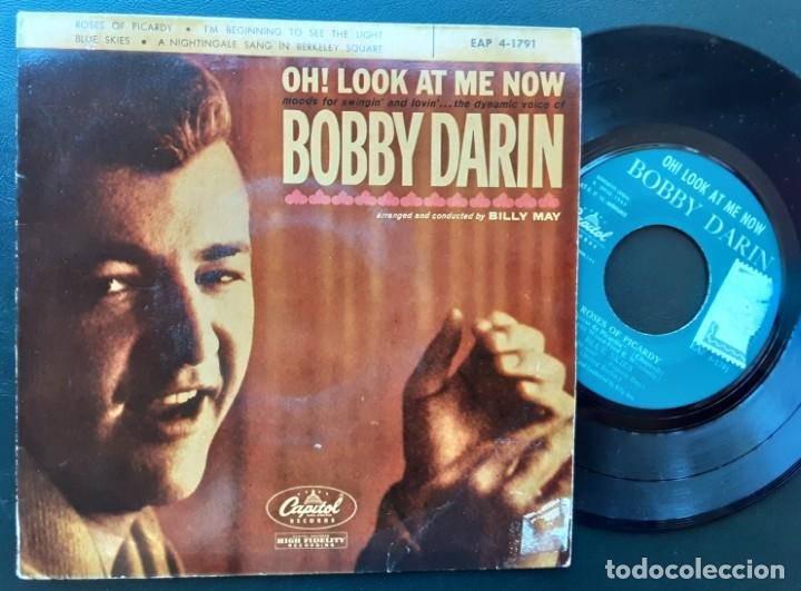 BOBBY DARIN, ROSES OF PICARDY, BLUE SKIES +2 (Música - Discos de Vinilo - EPs - Pop - Rock Internacional de los 50 y 60)