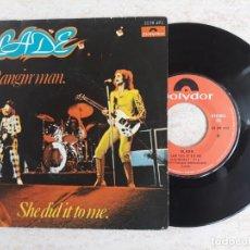 Discos de vinilo: SLADE.THE BAGIN' MAN.1974. Lote 180861805