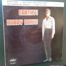 Discos de vinilo: BOBBY DARIN, WORK SONG, DOWN SO LONG, +2. Lote 180861857