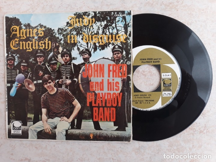 JOHN FRED AND IS PLAYBOY BAND.1968 (Música - Discos - Singles Vinilo - Rock & Roll)