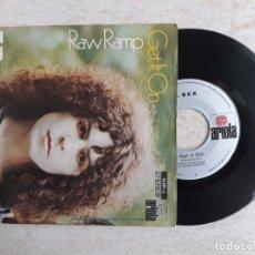 Discos de vinilo: T.REX .RAW RAMP. 1971.. Lote 180862376