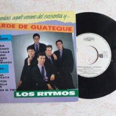 Discos de vinilo: LOS RITMOS.TARDE DE GUATEQUE.1987.. Lote 180864653