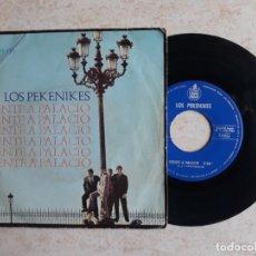 Discos de vinilo: LOS PEKENIKES.FRENTE A PALACIO.1966.. Lote 180865281