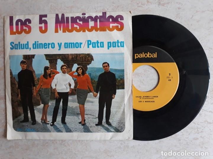 LOS 5 MUSICALES.SALUD,DINERO Y AMOR.1968. (Música - Discos - Singles Vinilo - Grupos Españoles 50 y 60)