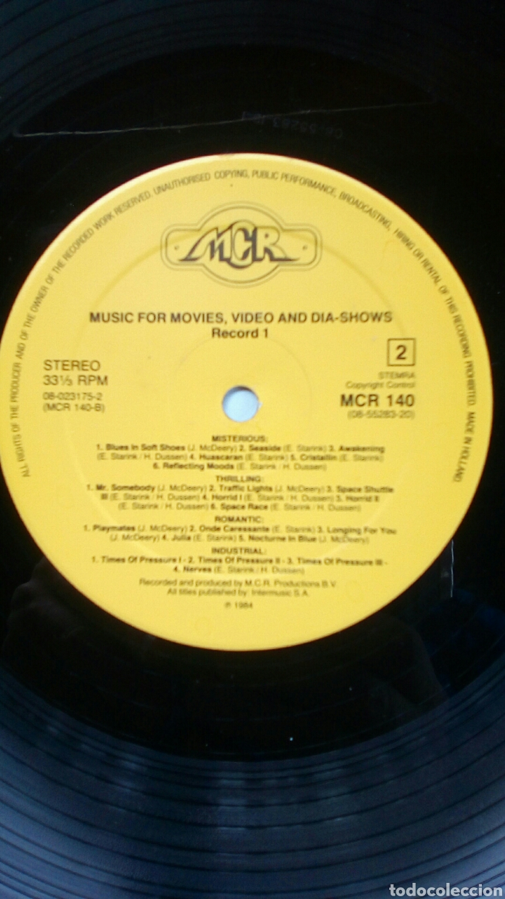 Discos de vinilo: Around The World In Many Moods - Music for movies..., 2 LP, MCR Productions, 1984. Holland. - Foto 6 - 180872222