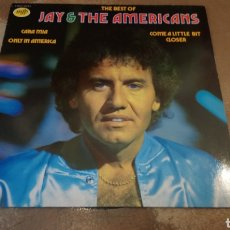 Discos de vinilo: THE BEST OF JAY & THE AMERICANS. LP VINILO BUEN ESTADO. Lote 180874812