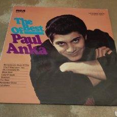 Discos de vinilo: PAUL ANKA–THE BEST OF PAUL ANKA . LP VINILO BUEN ESTADO. Lote 180875457