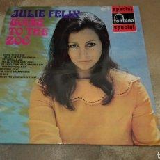 Discos de vinilo: JULIE FELIX–GOING TO THE ZOO - LP VINILO 1969. BUEN ESTADO. Lote 180881001