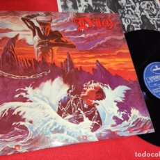 Discos de vinilo: DIO HOLY DIVER LP 1983 MERCURY SPAIN ESPAÑA. Lote 180881513