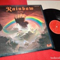 Discos de vinilo: BLACKMORE'S RAINBOW RAINBOW RISING LP 1984 POLYDOR SPAIN ESPAÑA. Lote 180883053