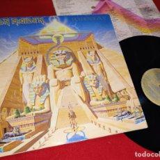Discos de vinilo: IRON MAIDEN POWERSLAVE LP 1984 EMI SPAIN ESPAÑA. Lote 180883628