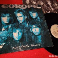Discos de vinilo: EUROPE OUT OF THIS WORLD LP 1988 EPIC SPAIN ESPAÑA. Lote 180883803