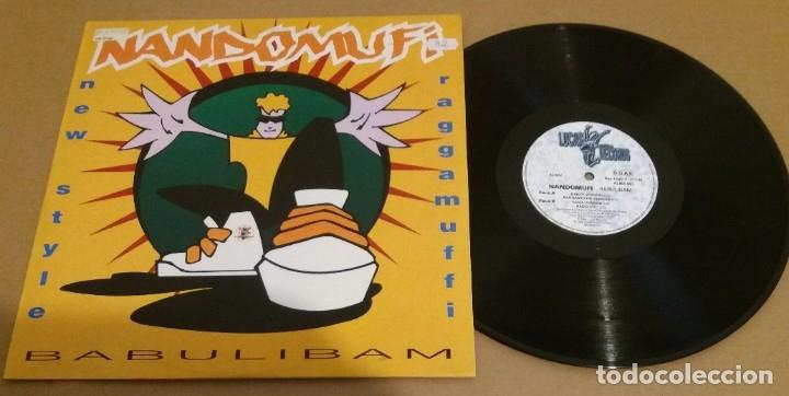 NANDOMUFI / BABULIBAM / MAXI-SINGLE 12 INCH (Música - Discos de Vinilo - Maxi Singles - Pop - Rock Internacional de los 90 a la actualidad)