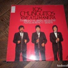 Discos de vinilo: FLAMENCO LOS CUNGUITOS - VIVE A TU MANERA CON ALASKA, ANA REVERTE, AZUCAR MORENO Y TIJERITAS. Lote 180886983
