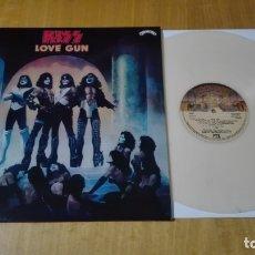 Discos de vinilo: KISS - LOVE GUN (LP REEDICIÓN, VINILO COLOR) NUEVO. Lote 180888892
