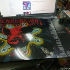 Discos de vinilo: CORROSION OF CONFORMITY! DOBLE LP WISEBLOOD 2013. Lote 180888907