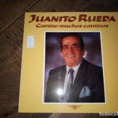Discos de vinilo: FLAMENCO JUANITO RUEDA - CAMINO MUCHOS CAMINOS AÑO 1989. Lote 180889217