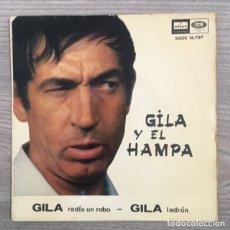 Discos de vinilo: GILA Y EL HAMPA - 1966. Lote 180892315