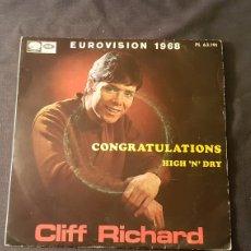 Discos de vinilo: CLIFF TICHARD...CONGRATULATIONS. Lote 180895307