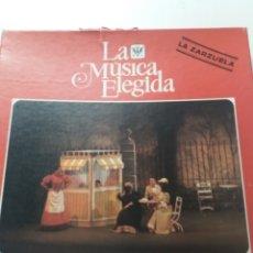 Discos de vinilo: LA MUSICA ELEGIDA , LA ZARZUELA. Lote 180902098