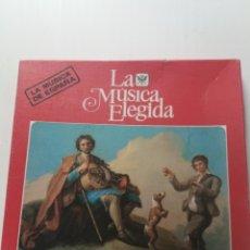 Discos de vinilo: LA MUSICA ELEGIDA , LA MUDICA DE ESPAÑA. Lote 180902335
