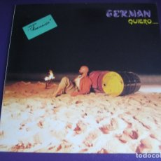 Discos de vinilo: GERMÁN MINI LP GGSM 1984 PROMO - QUIERO - ELECTRONICA SYNTH POP ITALODISCO - SIN USO. Lote 180902686