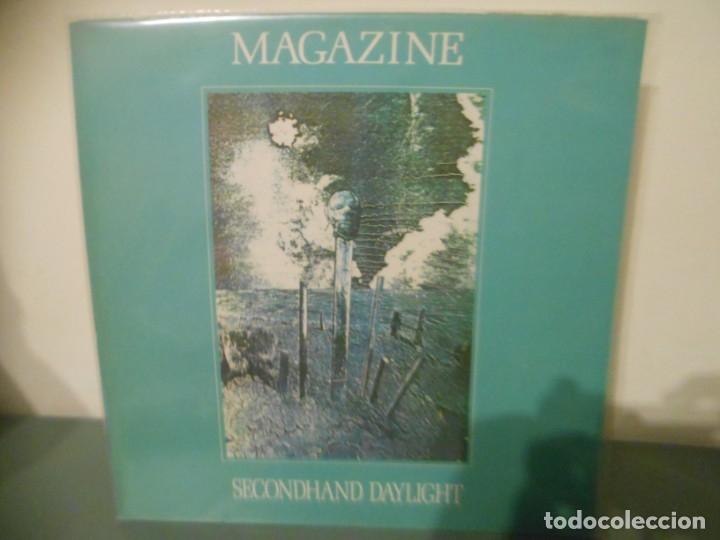 MAGAZINE - SECONDHAND DAYLIGHT (Música - Discos - LP Vinilo - Pop - Rock - New Wave Extranjero de los 80)